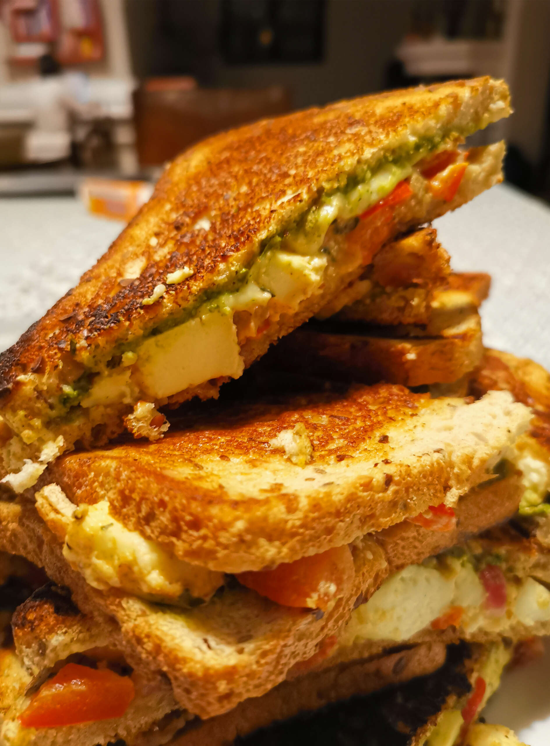 Bombay toast sandwich fromage